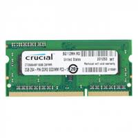 Memorija SO-DIMM PC-12800, 2GB, CRUCIAL CT25664BF160B, DDR3 1600MHz