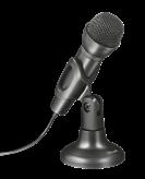 Mikrofon TRUST Ziva All-around, stolni, crni