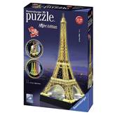 3D slagalica RAVENSBURGER, Eiffel Tower by Night, LED osvjetljenje, 216 komada