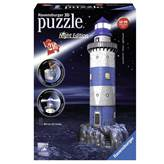 3D slagalica RAVENSBURGER, Lighthouse at Night, svjetionik, 216 komada