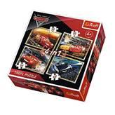 Slagalica TREFL 34276, Disney, Cars, Auti, 4u1, 35+48+54+70 komada