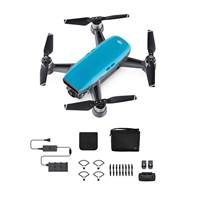 Dron DJI Spark Fly More Combo, Sky Blue, FullHD kamera, 2-osni gimbal, upravljanje daljinskim upravljačem, plavi + dodatna oprema