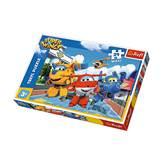 Slagalica TREFL 14252, Super Wings, Happy Planes, sretni avioni, maxi, 24 komada