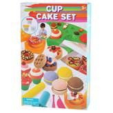 Masa za modeliranje PLAYGO 8590, Cup Cake Set, set za izradu muffina