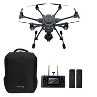 Dron YUNEEC Typhoon H PRO + ruksak, 2x baterija, 4k UHD kamera, Intel Real Sense, upravljanje daljinskim upravljačem
