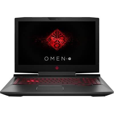 Prijenosno računalo HP Omen 17-an021nm 2QE56EA / Core i7 7700HQ, 8GB, 256GB SSD, GeForce GTX 1050 4GB, 17.3'' IPS FHD, G-LAN, BT, USB 3.1, DOS, crno