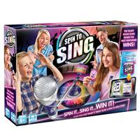 Set za igru SPIN TO SING, zavrti i pjevaj