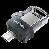 Memorija USB 3.0 FLASH DRIVE, 64 GB, SANDISK Ultra Dual Drive m3.0, SDDD3-064G-G46GW, USB 3.0 i micro USB OTG