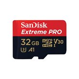 Memorijska kartica SANDISK, micro SD Extreme, 32GB, SDSQXCG-032G-GN6MA, class 10, V30 UHS-I, 100MB/s + SD Adapter + Rescue Pro Deluxe