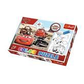 Slagalica TREFL 36514, Color Puzzle, Disney, Cars, obostrane, 40 komada