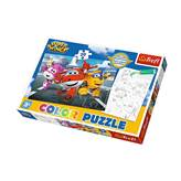 Slagalica TREFL 36519, Color Puzzle, Super Wings, obostrane, 20 komada
