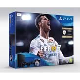 Igraća konzola SONY PlayStation 4, 1000GB, Slim E Chassis + FIFA 18 Stnd. Ed. + Dualshock 4 + PS Plus 14