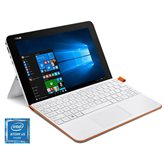 "Tablet računalo ASUS Transformer T102HA-GR042T, 10.1"" IPS , QuadCore Intel Atom x5 Z8350 1.44GHz, 4GB RAM, SSD 64GB EMMC, MicroSD, BT, kamera, USB, Windows 10, bijelo-narančasto"