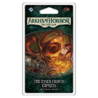 Društvena igra ARKHAM HORROR - The Essex County Express, living card game, mythos pack