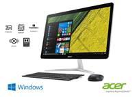 "Računalo ACER Aspire U27-880 All-in-One DQ.B8SEX.002 / Intel Core i5 7200U, 8GB, 1000GB + SSD 128GB, Intel HD Graphic, 27"" Touch, WiFi, LAN, BT, HDMI, USB 3.0, zvučnici, tipkovnica, miš, Windows 10"