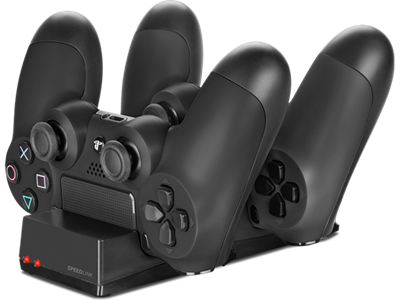Dodatak za SONY PlayStation 4, SpeedLink Jazz USB punjač za 2 kontrolera