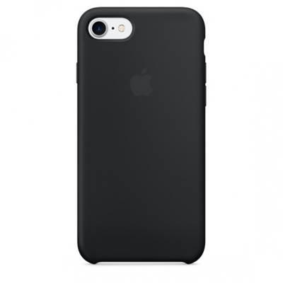 Cover APPLE Silicone Case, za IPHONE 7/8, crni