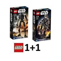 LEGO Star Wars 1+1, K-2SO + Sergeant Jyn Erso