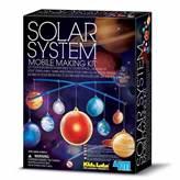 Kreativni set 4M, Kidz Labs, Solar System Mobile Making Kit, mobil sunčevog sustava