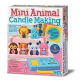 Kreativni set 4M, Mini Animal Candle Making, set za izradu mini svijeća, životinje
