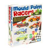 Kreativni set 4M, Mould And Paint, Racers, set za izradu magneta, vozila za utrke