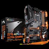 Matična ploča GIGABYTE GA-Z370-Aorus Ultra Gaming, Intel Z370, DDR4, zvuk, G-LAN, SATA, M.2, PCI-E 3.0, CrossFire, HDMI, DVI-D, USB 3.1-C, ATX, s. 1151