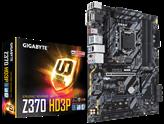 Matična ploča GIGABYTE GA-Z370-HD3P, Intel Z370, DDR4, zvuk, G-LAN, SATA, M.2, PCI-E 3.0, CrossFireX, HDMI, DVI-D, USB 3.1-C, ATX, s. 1151