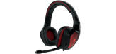 Slušalice GAMDIAS EROS E1, GAMING, USB, crne