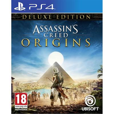 Igra za SONY Playstation 4, Assassins Creed: Origins Deluxe Edition PS4 - preorder