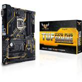 Matična ploča ASUS TUF Z370-Plus Gaming, Intel Z370, DDR4, zvuk, G-LAN, SATA, RAID, PCI-E 3.0, USB Type 3.1, DVI, HDMI, M.2 ATX, s. 1151