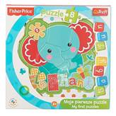 Slagalica TREFL 36119, Baby Fun - Elephant, moje prve puzzle, slon, 8 komada