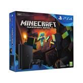 Igraća konzola SONY PlayStation 4, 500GB, Black + Minecraft PS4