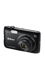 Digitalni fotoaparat NIKON Coolpix A300, 20, Mpixela, 16x dinamični zoom, SD/SDHC/SDXC, USB, WiFi, BT, crni + SD/16GB + torbica