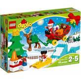 LEGO 10837, Duplo, Santa's Winter Holiday, zimski praznici Djeda Božićnjaka