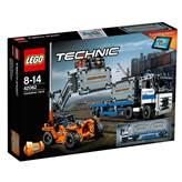 LEGO 42062, Technics, Container Yard, lučko skladište