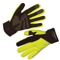 Biciklističke rukavice ENDURA Strike II, vel.L, vodootporne, žute