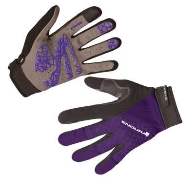 Biciklističke rukavice Ž. ENDURA Hummvee +, vel.XS, ljubičaste