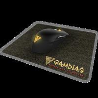 Miš GAMDIAS Ourea E1 Combo, optički, 4000 dpi, USB + podloga NYX E1