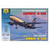 Maketa ZVEZDA, Civil Airliner, Airbus A-320, 1:144