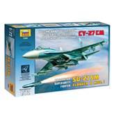 Maketa ZVEZDA, Russian Air Superiority Fighter Su-27SM Flanker B Mod. 1, 1:72