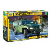 Maketa ZVEZDA, Russian Armored Vehicle GAZ-233014 Tiger, 1:35