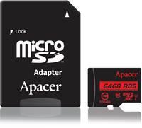 Memorijska kartica APACER AP64GMCSX10U5-R, Micro SDXC 64GB, Class 10 UHS-I U1