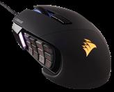 Miš CORSAIR Scimitar RGB, Gaming, CH-9000231-EU, optički, crni, USB