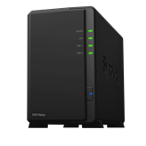 "Eksterno kućište SYNOLOGY DS218PLAY DiskStation 2-bay NAS server, 2.5""/3.5"" HDD/SSD podrška, Wake on LAN/WAN, Floating Point, 1GB, G-LAN"