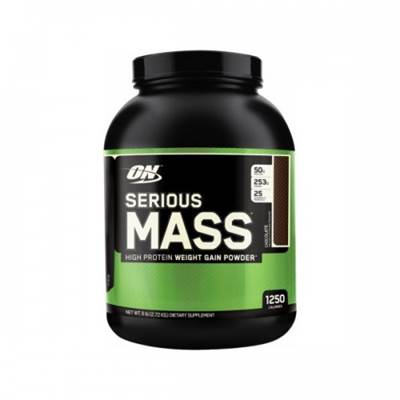 Geiner OPTIMUM NUTRITION Serious mass, vanilija 2,73kg