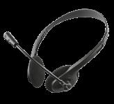 Slušalice TRUST Chat, Headset, crne