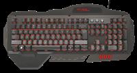 Tipkovnica TRUST GXT 850 Metal Gaming, crna, USB