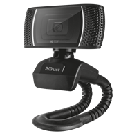 Web kamera TRUST Trino, crna
