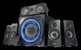 Zvučnici TRUST GXT 658 Tytan, 5.1, crni