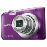 Digitalni fotoaparat NIKON Coolpix A100, 20 Mpixela, 5x optički zoom, SD/SDHC/SDXC, USB, ljubičasti + SD/8GB